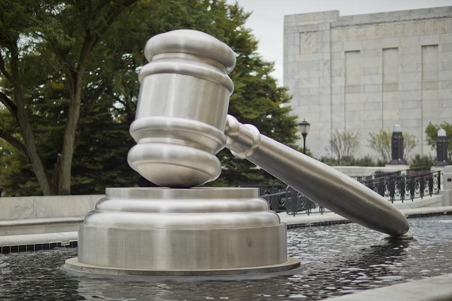 gavel statue